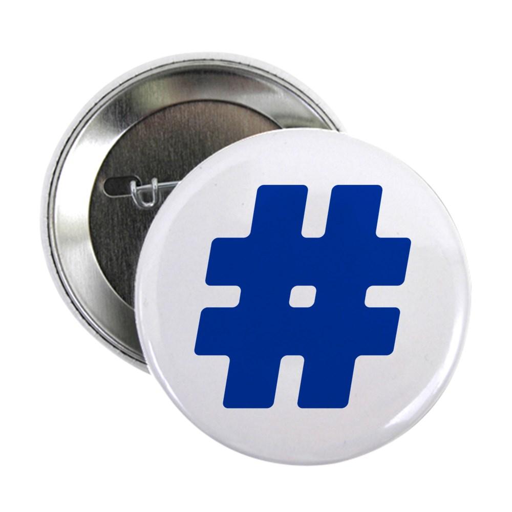Blue #Hashtag 2.25