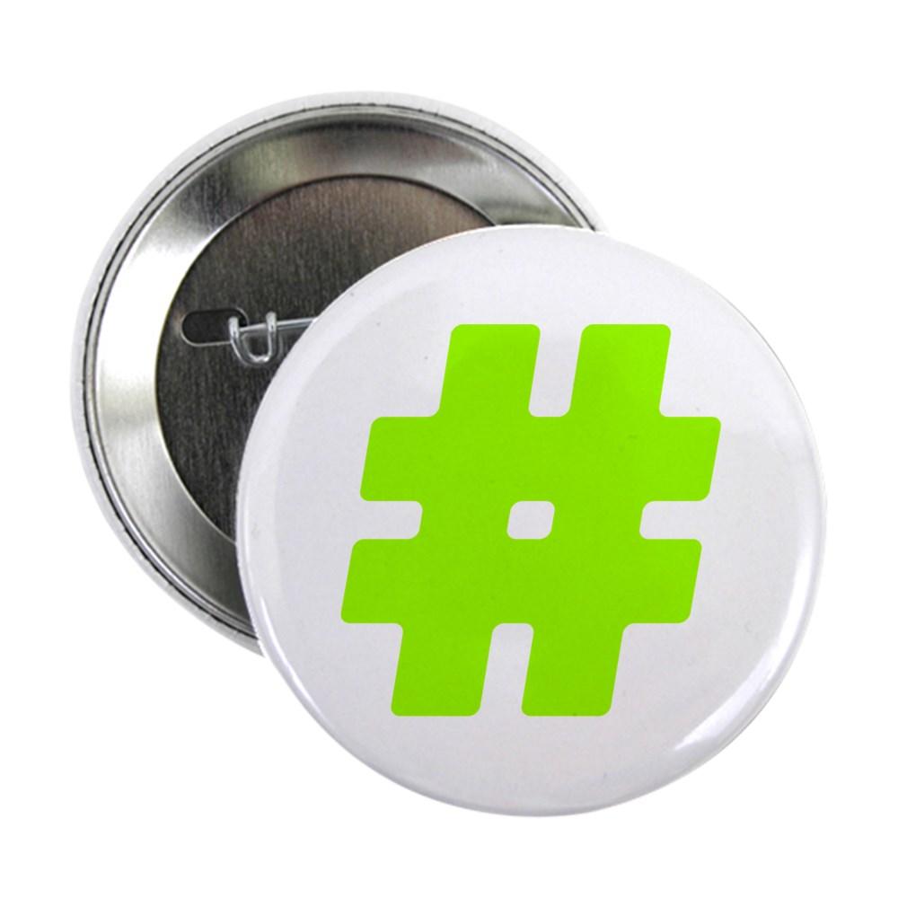 Neon Green #Hashtag 2.25