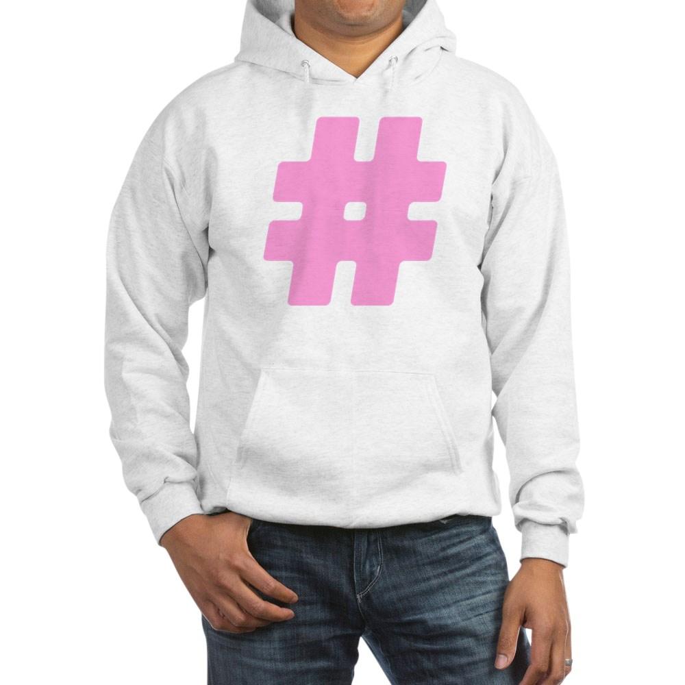 Pink #Hashtag Hooded Sweatshirt