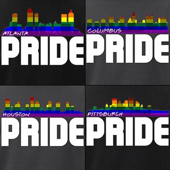 LGBTQ City Skyline Pride