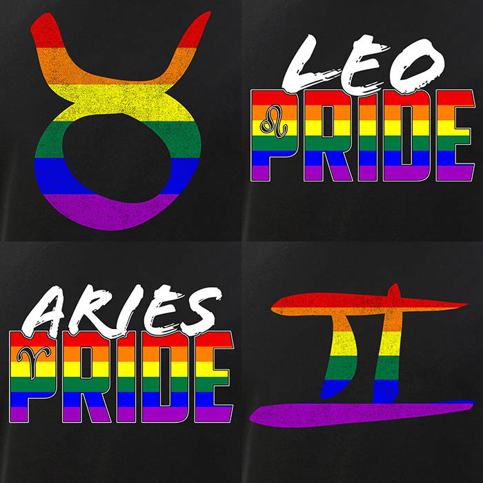 LGBT Signs of the Zodiac