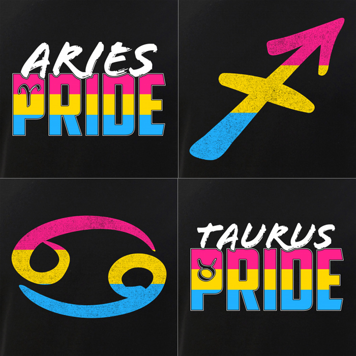 Pansexual Signs of the Zodiac