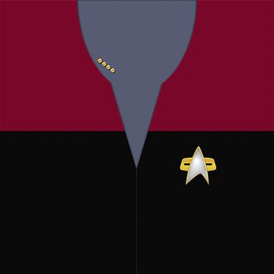 Star Trek: VOY Command Red Uniforms