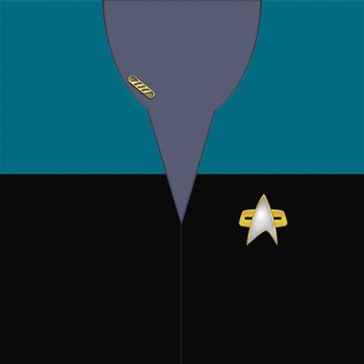 Star Trek: VOY Provisional Science/Medical Blue Uniforms
