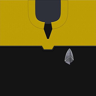 Star Trek: PIC Operations Gold Uniforms - 2390s