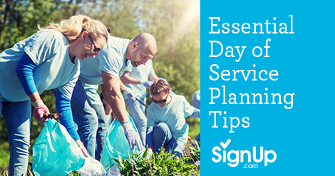 Planning Tips for your Group Service Day