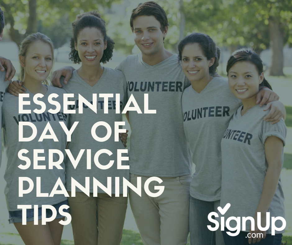 Essential Day of Service Planning Tips