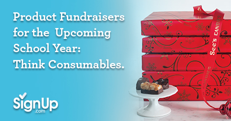 Product Fundraisers for the upcoming School Year, Think Consumables