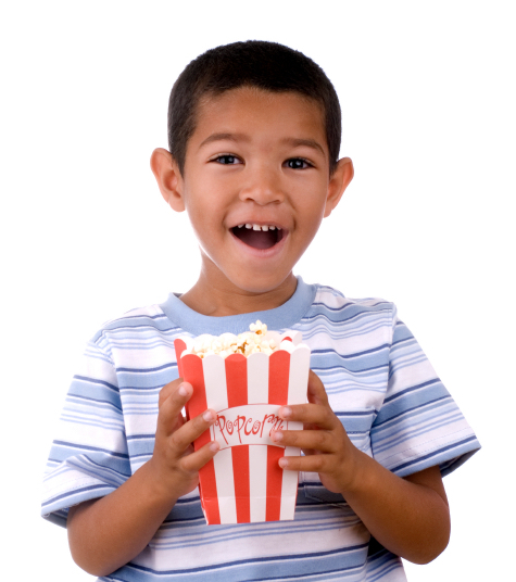 Carnival Popcorn Booth