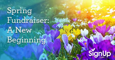 Spring Fundraiser A New Beginning