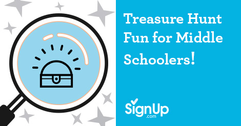 Treasure Hunt Fun for Middle Schoolers!