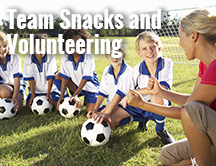 Team Snacks and Tournament Volunteer Scheduling