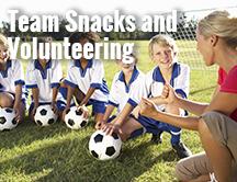 Team Snacks and Tournament Volunteer Scheduling