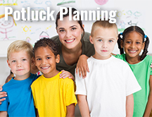 Teacher Appreciation Potluck Planning
