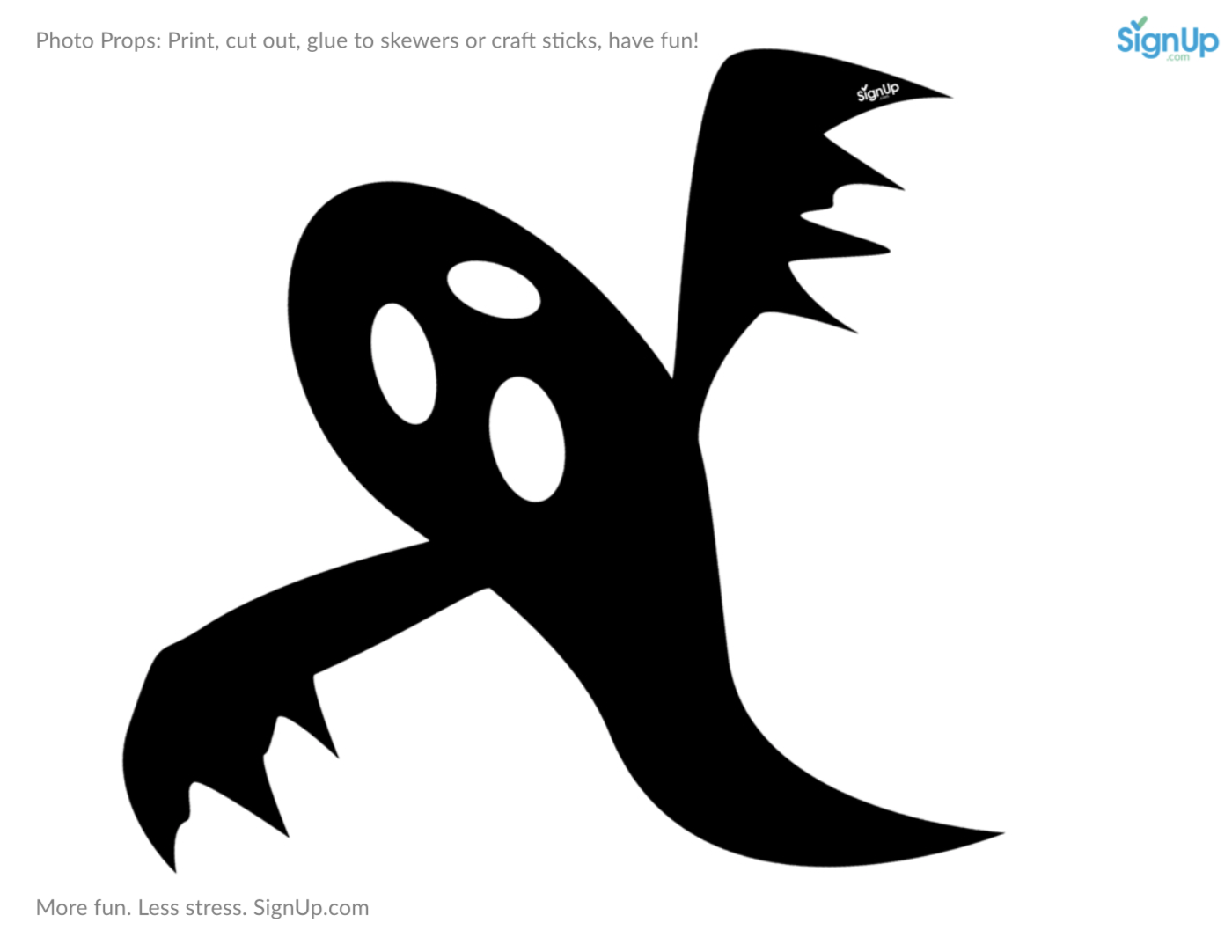image about Printable Halloween Craft referred to as Printable Photobooth Props: Halloween Occasion Craft Recreation