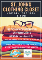 St. Johns Community Clothing Closet