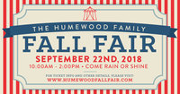 Humewood Fall Fair Sign Up