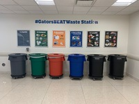 Gators Beat Waste Station