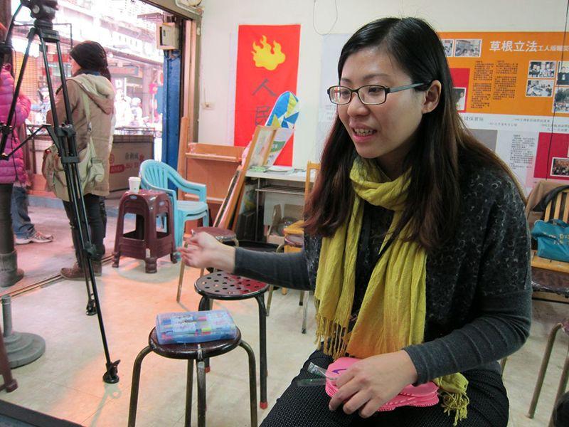 《第一屆回桃看藝術節》藝術策展人田水鷺設計的Ajar徐佳伶。