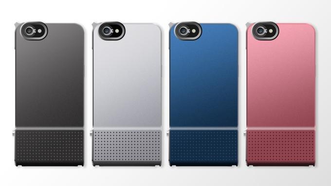 SNAP!6 也是一體成型,握把處有小凸起且有遍佈防滑的小凹痕。 共有四種顏色:黑、白、藍、粉紅