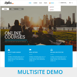 WPLMS MultiSite Demo