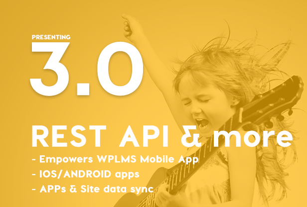WPLMS REST API, LMS REST API, Mobile App