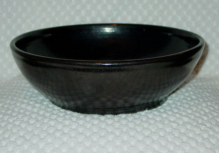 Black Oil Spot Bowl