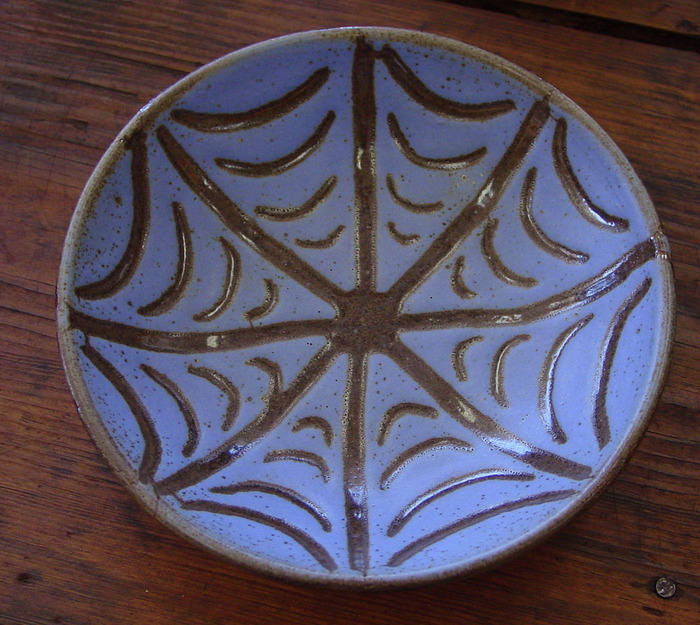 Lavender Sgraffitto Bowl