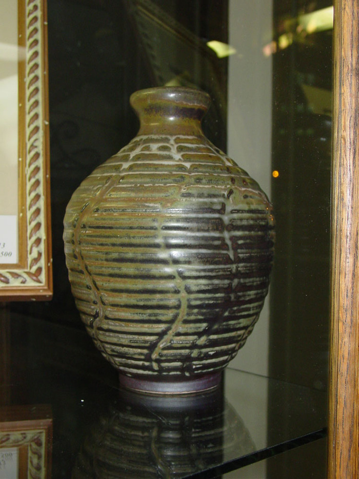 Sgraffito Vase/Bottle