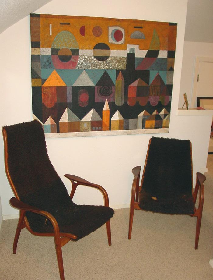 Lamino easy chair.