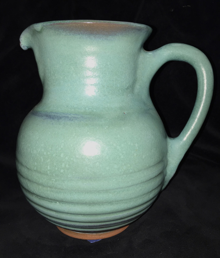 1979 Turquoise Pitcher