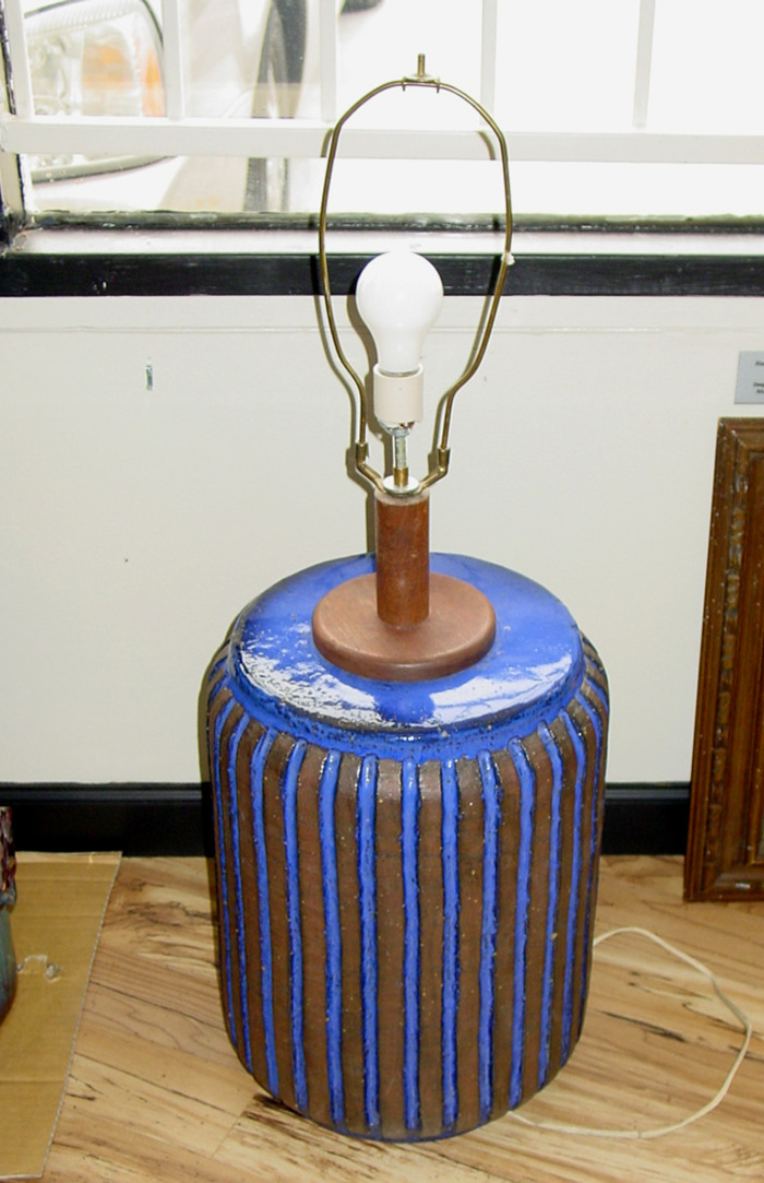 Rare Mid Century Modern Table Lamp 1966