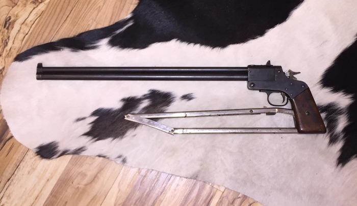 Marble's Game Getter Gun Circa 1921.  .