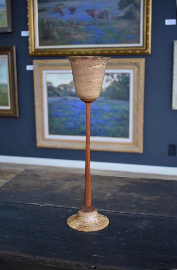 Cedar Elm Long Stemmed Goblet