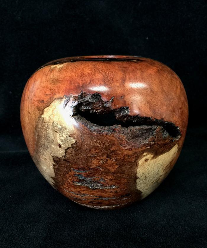 Rustic Mesquite Hollow Form