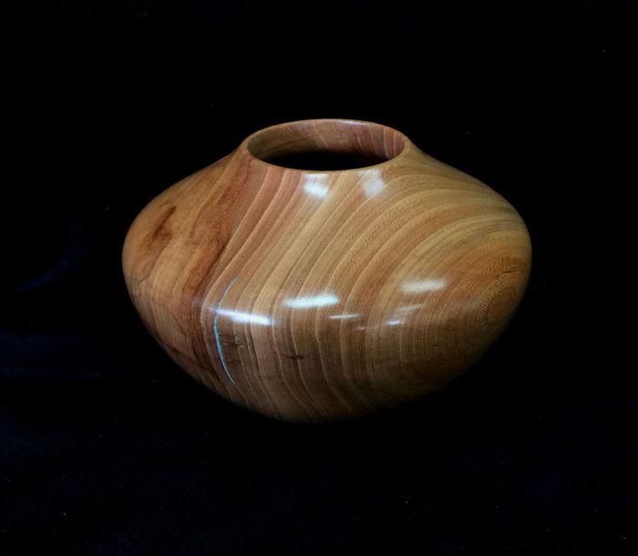 Cedar Elm Bowl, Southwestern Hollow Form