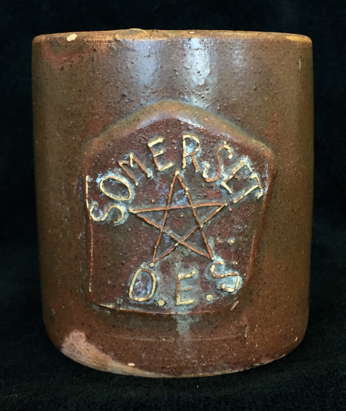 Mug Signed Order of the Eastern Star Somerset Circa 1920s