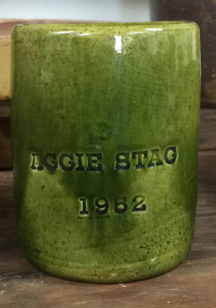 1952 Aggie Stag Mug