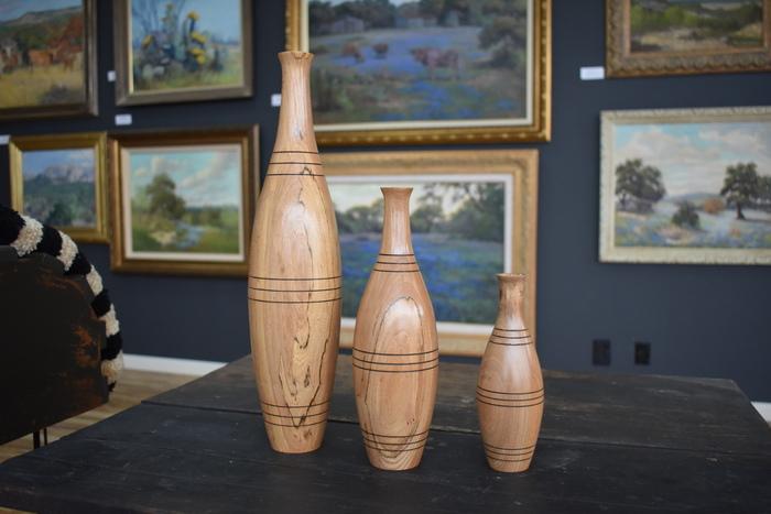 Cedar Elm Vases