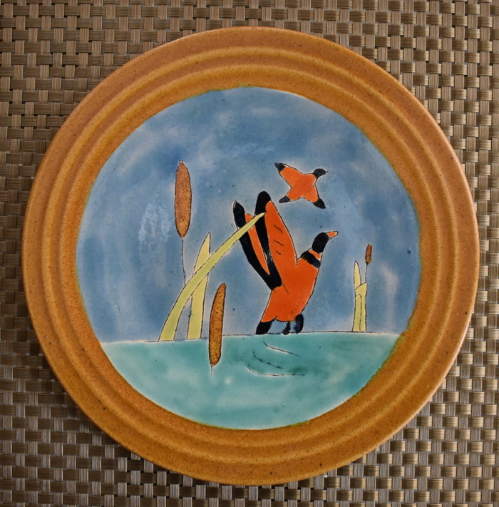 """Plate """"Ducks in Flight"""""""