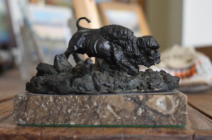 Bronze Buffalo