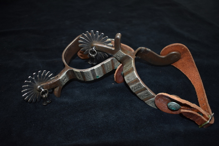 Pair Of Vintage Western Spurs