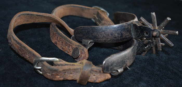 Stamped Leather Straps