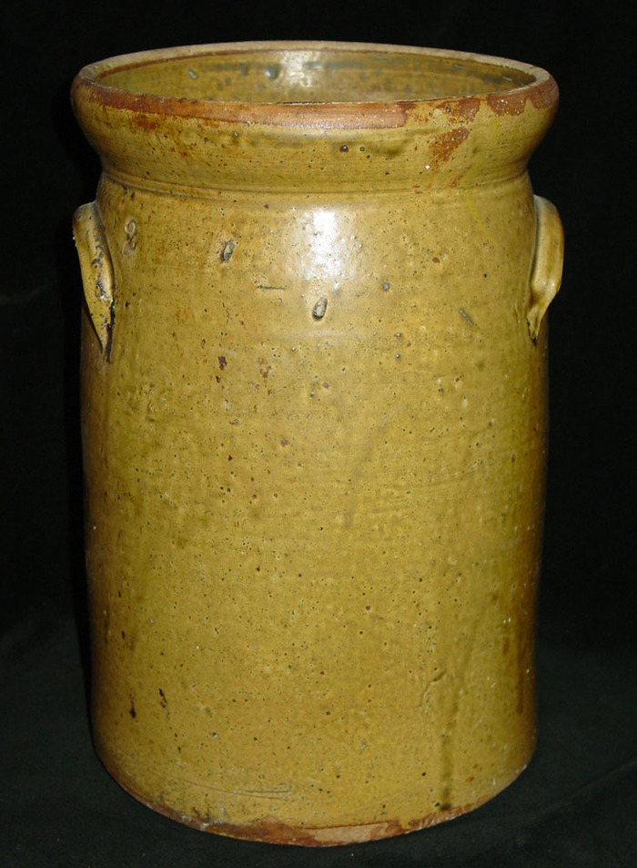 Early Meyer 2 gallon Jar or Churn