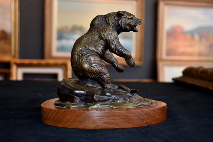 "Bronze ""Grizzly"" #121 / 150"