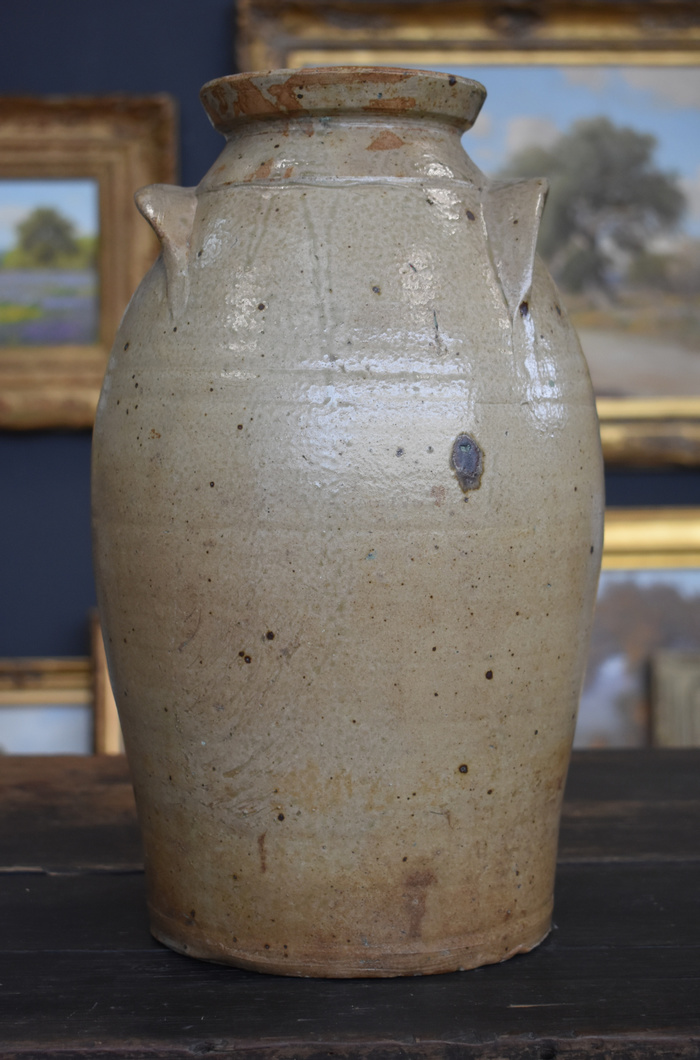 Storage Jar, Double Ear Handled