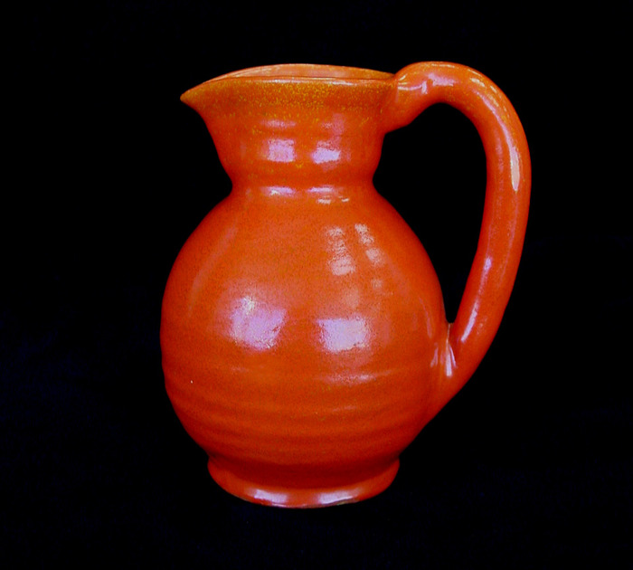 Witte Museum Uranium Glazed Pitcher