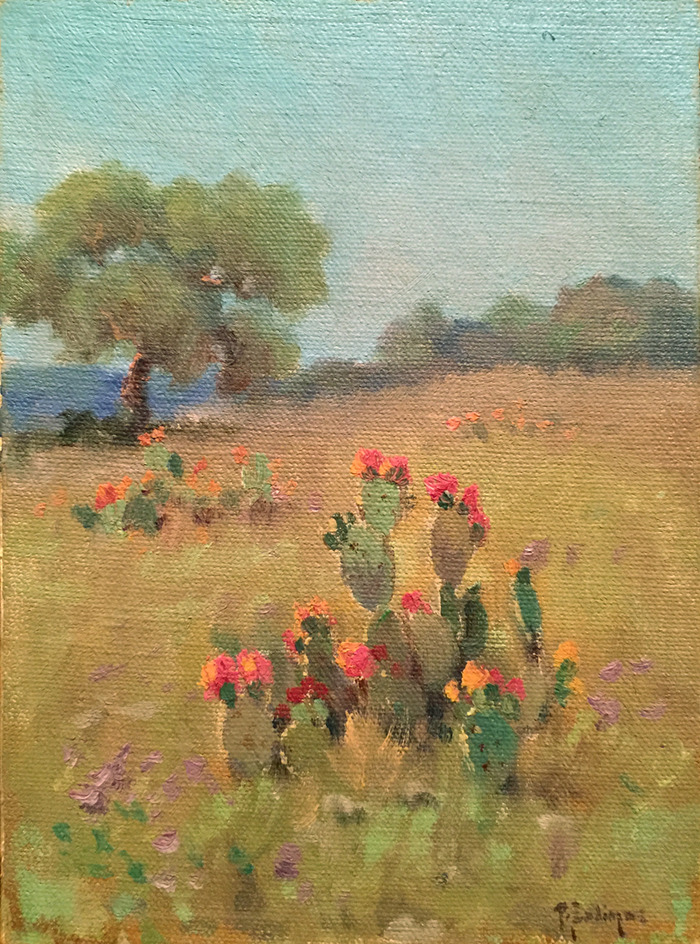 """Blooming Cactus"""