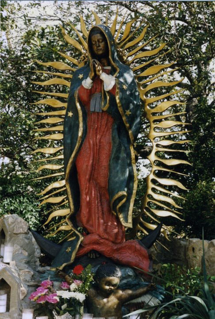 """Virgin of Guadalupe""  10 feet Tall"