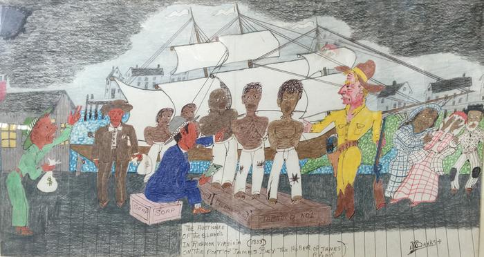 """Slave Auction""  Richmond Virginia 1853"
